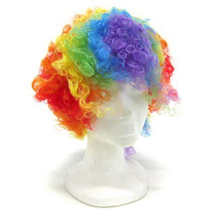Rainbow Clown Wig  Rebecca s Toys   Prizes d1a052f6a