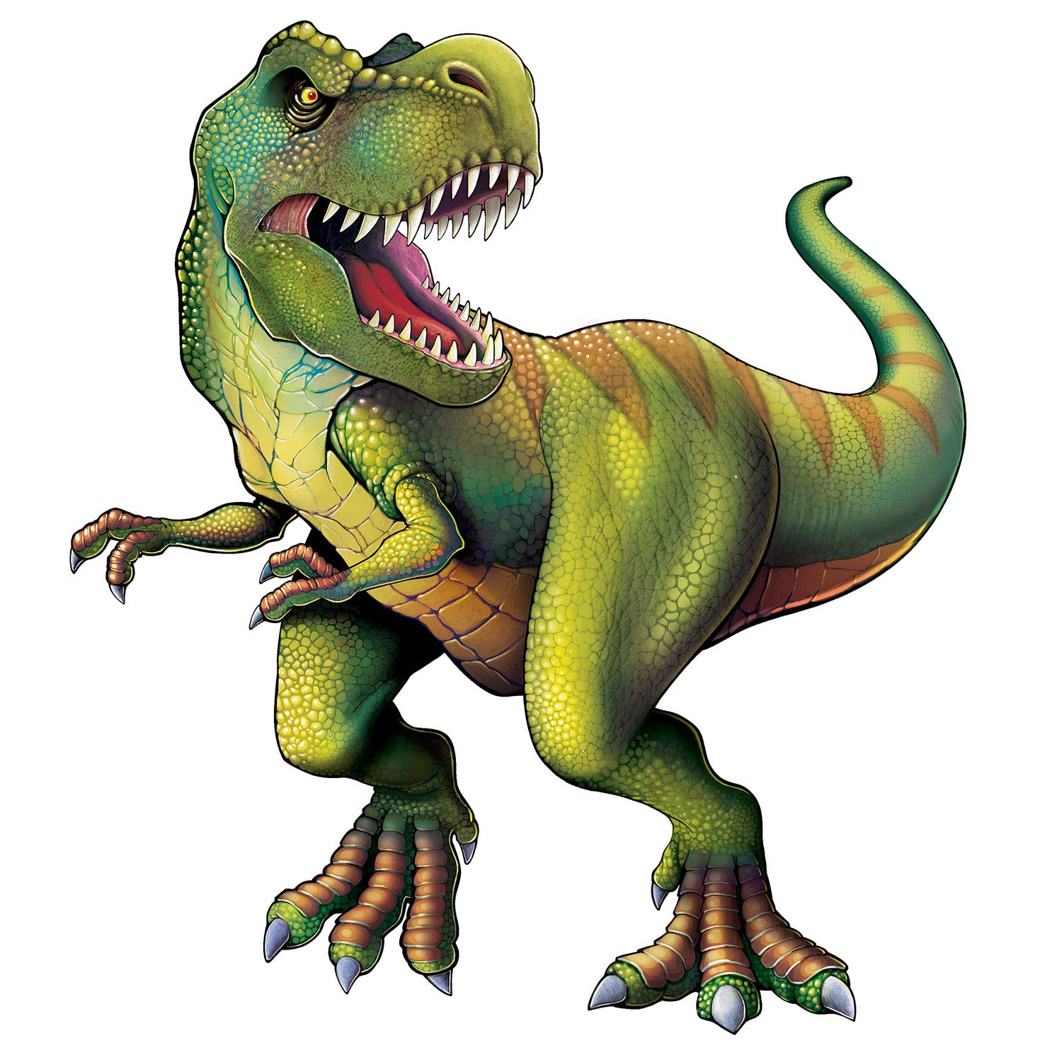 T Rex Dinosaur Jointed Cutout 4 Feet Rebecca S Toys Prizes