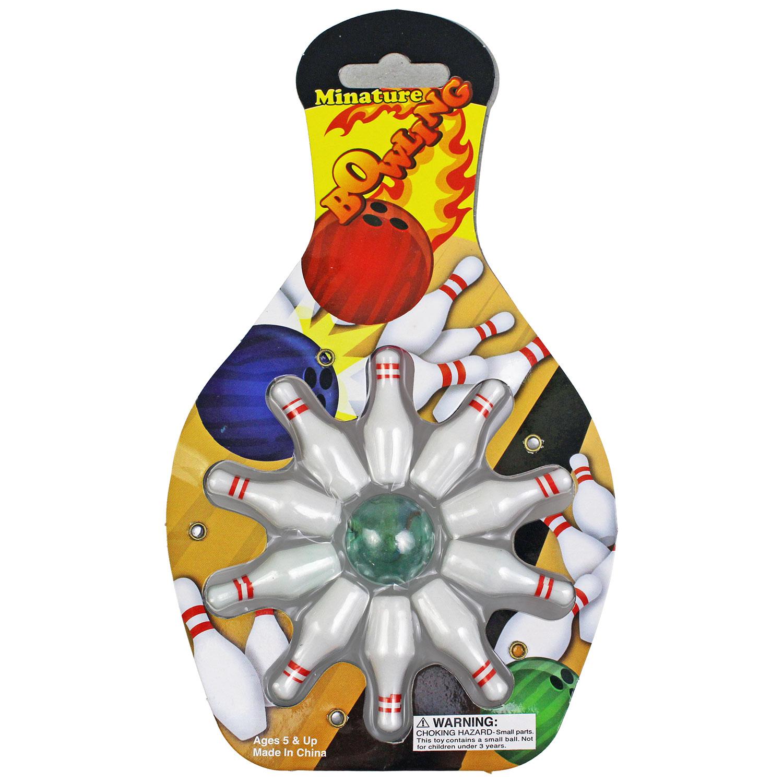 Mini Bowling Sets - 11 Piece - 12 Count
